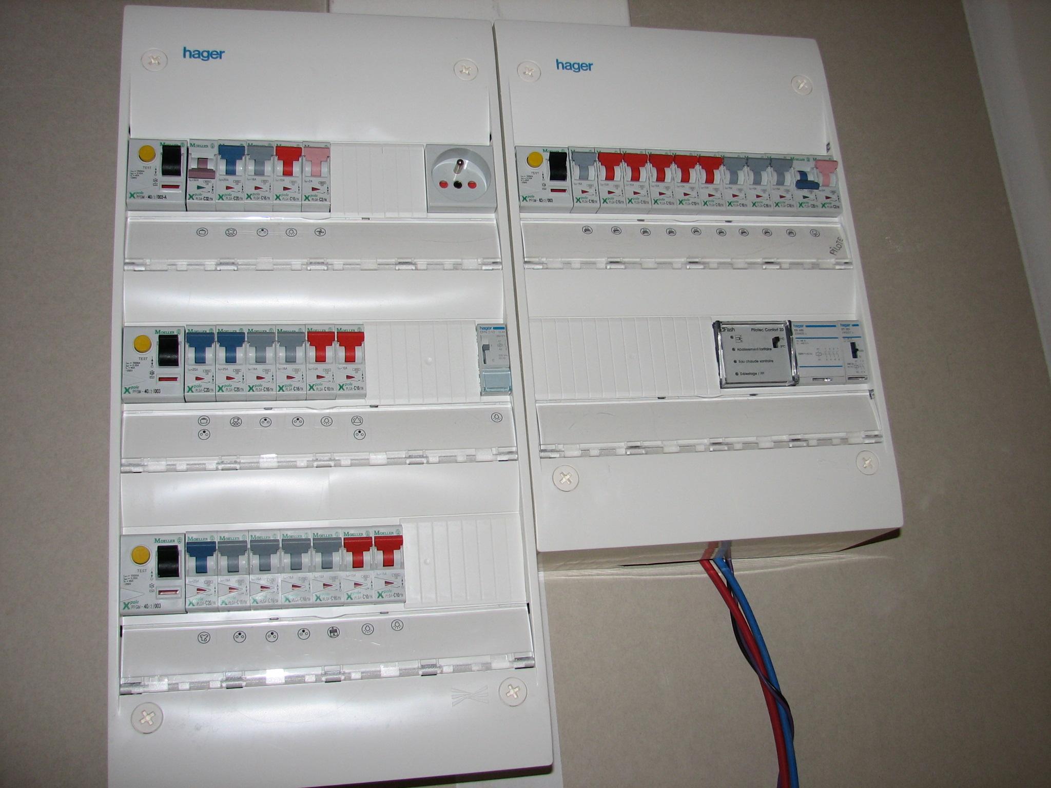 je veux trouver un bon tableau ou coffet electrique de marque pas cher ici tableau electrique de maison - Photo Tableau Electrique Maison